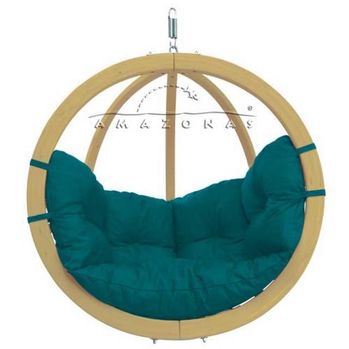 Globo hangstoel groen